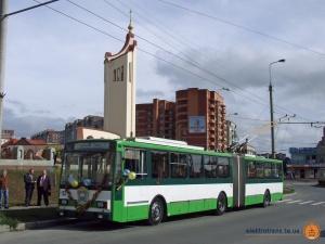 Відкриття тролейбусної лінії навколо