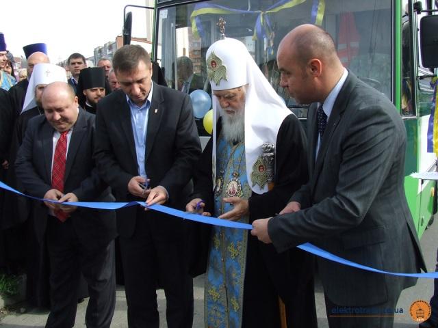 """Відкриття тролейбусної лінії навколо """"Аляски"""""""
