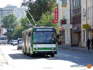 Skoda-15Tr №152 на маршруті №8
