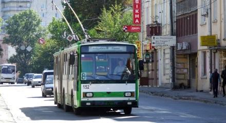 Škoda 15Tr №152 на маршруті №8