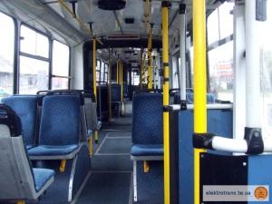 Салон тролейбуса «Skoda 15Tr»