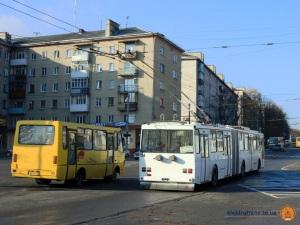 Тролейбус «Skoda 15Tr» №154